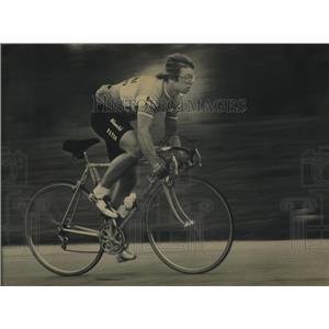 1982 Press Photo United States Olympic Cyclist Les Barczewski Of West Allis