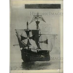 1931 Press Photo Santa Maria Ship Replica - RRX42665