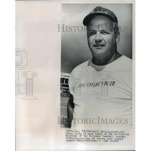 1964 Press Photo Bill McPeak, head of the Washington Redskins, fired