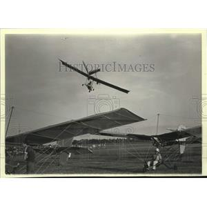 1983 Press Photo Glider planes at an Experimental Aircraft Association show