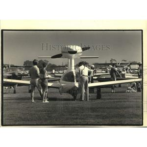 1986 Press Photo Experimental Aircraft Association Convention and Fly-in Oshkosh