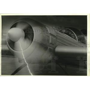 1993 Press Photo Elena Klimovich at Experimental Aircraft Association Fly-In