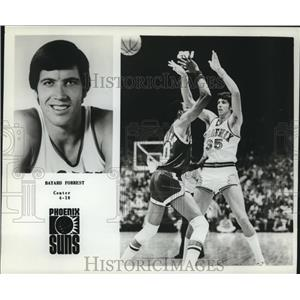 1978 Press Photo Phoenix Suns basketball player Bayard Forrest - nos12527