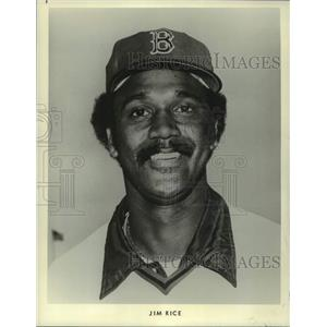 1979 Press Photo Jim Rice of the Boston Red Sox baseball team - mjc36387