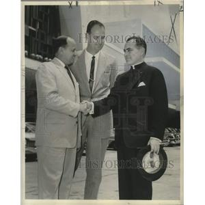 1960 Press Photo The Reverend Theodore M. Hesburgh, President, Notre Dame