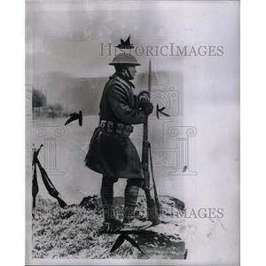 1951 Press Photo Dough Boy Army Soldiers - RRX60333