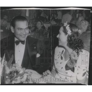 1946 Press Photo Fulgencio Batista & Martha Fernandez - RRX84621