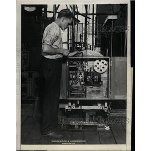 1923 Press Photo Bureau of Standards Auto Accerleration - RRX71945