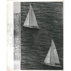 1964 Press Photo America's Cup Newport - RRW46137