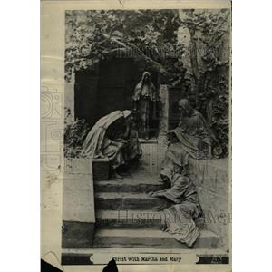 1918 Press Photo wonderful scenes Christ Sculptor - RRX72823