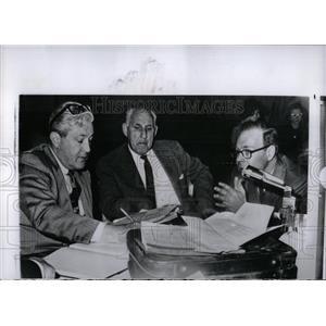 1964 Press Photo Dr. Manfred Guttmacher, Baltimore