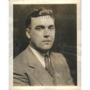 1934 Press Photo O.J. Kreusser