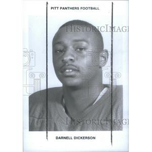 1980 Press Photo Darnell Dickerson American football coach Tampa Bay Buccanneers