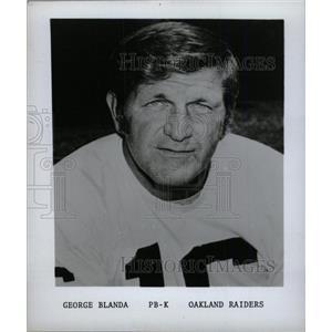 1975 Press Photo George Frederick Blanda Oakland Raider - RRW74867