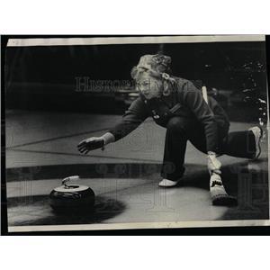 1974 Press Photo Ede Henry Heather Curling Club - RRW54245