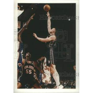 1997 Press Photo Keith Adam Van Horn American Professional Basketball Player