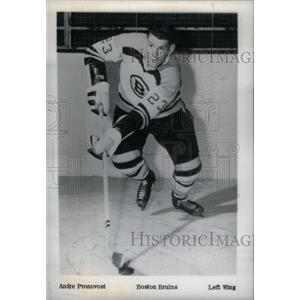 1962 Press Photo Boston Bruins Andre Pronovost - RRX39501