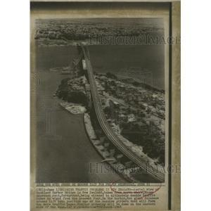 1968Press Photo Bridging Traffic Problems in Newzealand - RRX86683
