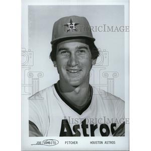 1979 Press Photo Joe Sambito, Pitcher, Houston Astros - RRW74109