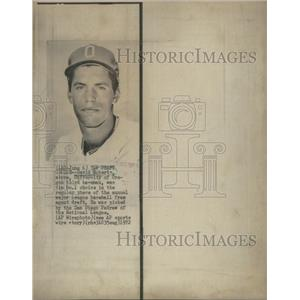 1972 Press Photo U. of Oregon draftee goes to the San Diego Padres - RSC29109