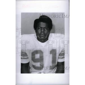 1977 Press Photo Detroit Lions LB Roger Cox - RRX38657