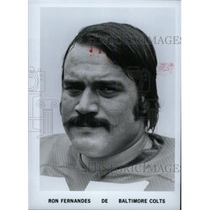 1900 Press Photo Ron Fernandes Baltimore Colts Football - RRW80141