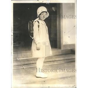 1932 Press Photo Shigeko Teru-No-Miya Daughter Emperor Empress Japan School Day