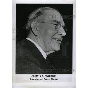 1943 Press Photo Curtis Dwight Wilbur Frederick Knob - RRW97605