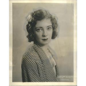 1930 Press Photo Actress Mildred MacLeod - RSC90605