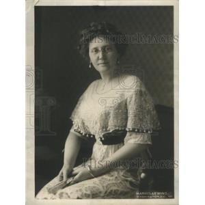 1913 Press Photo Mrs. Thomas R. Marshall