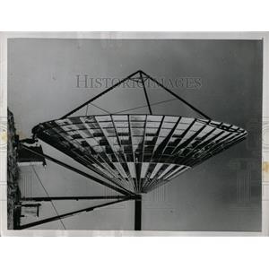 1955 Press Photo Worlds Largest Television Antenna - RRW90439