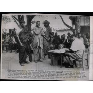 1951 Press Photo Carbe Britain Gold Coast Colony Africa - RRX78887