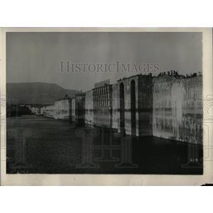 1928 Press Photo Lloyd Dam Bhatgar India Water Supply - RRX76727