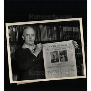 1933 Press Photo The Utah State Journal of Ogden