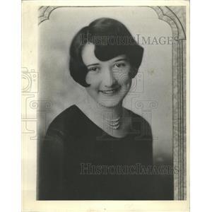 1936 Press Photo Ella Cruise Ottowa Illinois 1927 died - RRW51165