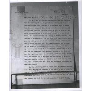 1932 Press Photo George Bernard Shaw - RSC39913