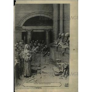 1918 Press Photo Dams triennial Christ Calaphas Scenes - RRX72813