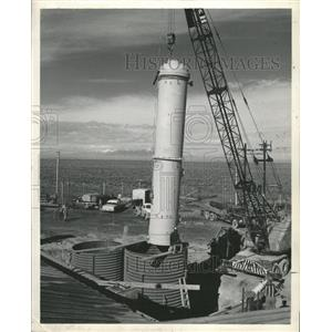 1957 Press Photo Nuclear Power Plant Arco Idaho - RRX89137