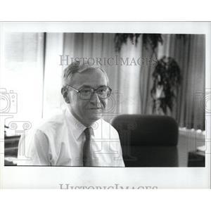1989 Press Photo Bill Odom, Chief of Ford Motor Credit - RRW87797