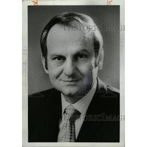 1977 Press Photo Lee A. Iacocca President Ford Motor Co - RRW72163