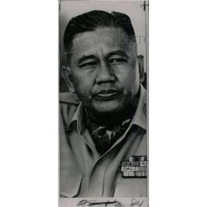 1964 Press Photo General D??ng V?n Minh - RRW81237