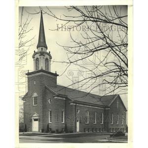 1947 Press Photo First Reformed Church Illinois - RRW50815