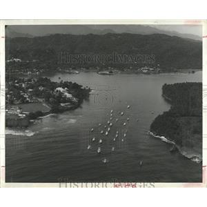 1965 Press Photo Fleet of fishing boats,Jamaica - RRX83769