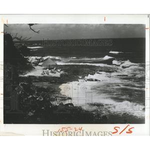 1976 Press Photo Kingston Jamaica Coastline - RRX83781