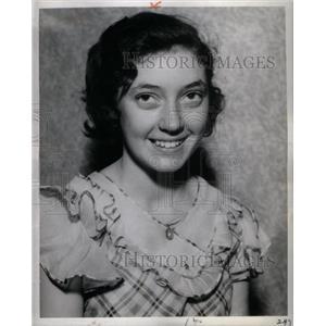 1934 Press Photo Ann Mary O'Regan Spelling Bee Champion - RRX60529