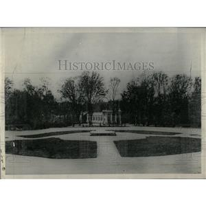 1918 Press Photo Compiegne forest France German Allied - RRX78715