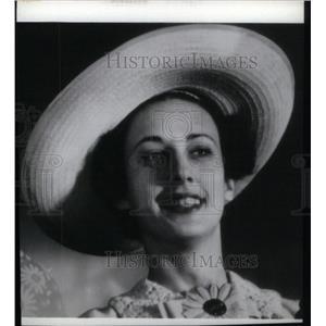 1936 Press Photo Peggy Ann Landon Kansas Governor - RRX41679