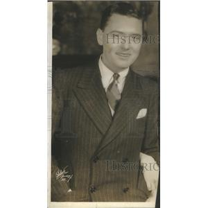 1925 Press Photo Charles King Vaudeville Broadway Movie Actor