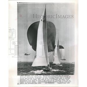 1964 Press Photo America's Cup Newport - RRW46131