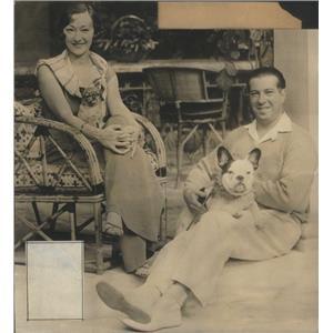 1932 Press Photo Irving Netcher American Businessman Palm Beach Florida